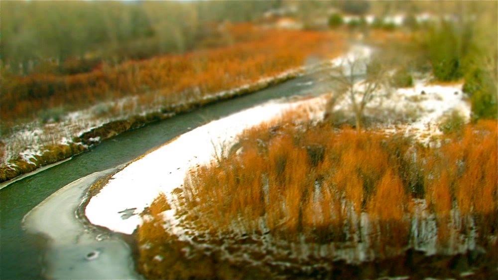 Winter Stream by John Casquarelli