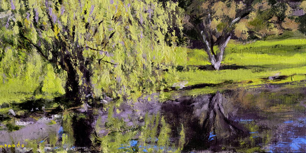 Mark Patnode – Five Paintings