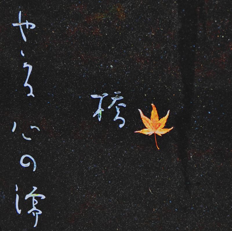Granite, Leaf, and Script by Jayne Marek