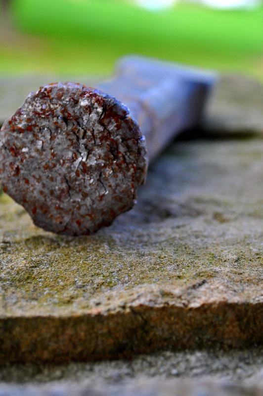 Tools of the Trade: Stonemason's Chisel by Melanie Faith