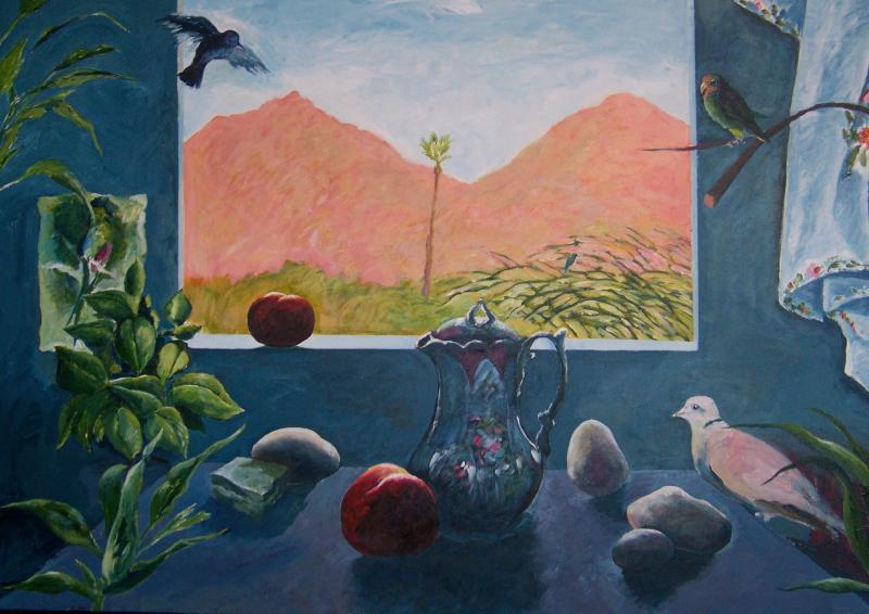 David Chorlton – Five Paintings and Five Poems